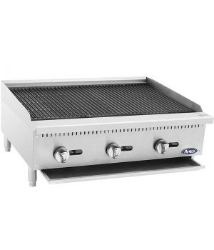 ATCB-36 HD 36″ Char-Rock Broiler