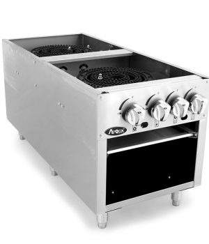 ATSP-18-2 Double Stock Pot Stove