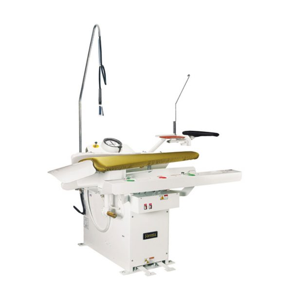 """F"" Series (Clear Buck)-472FGR Contoured Legger Dry Cleaning Press"