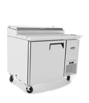Single Door Food Prep Table Fridge